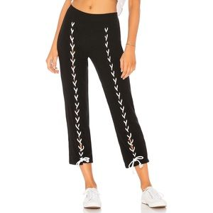 LNA Lace-up Brushed Piper Pant